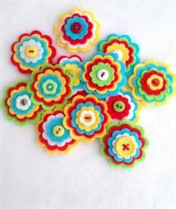 Creative Bathroom Decorating Ideas by Make Itself Felt Flowers Creative Craft Ideas Felt