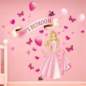 Girls Bedroom Wall Stickers girls princess wall sticker girls large bedroom fairy tale sticker