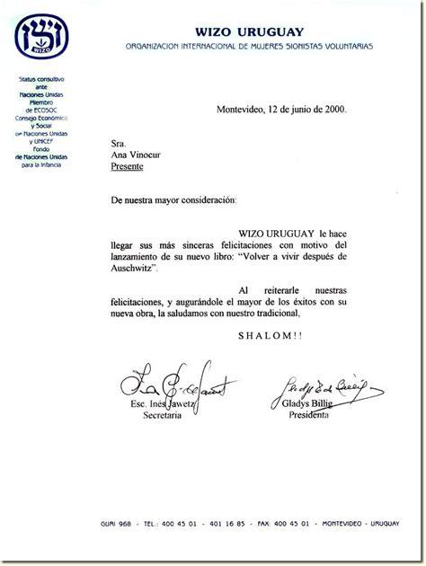 carta formal de vacaciones articulos2