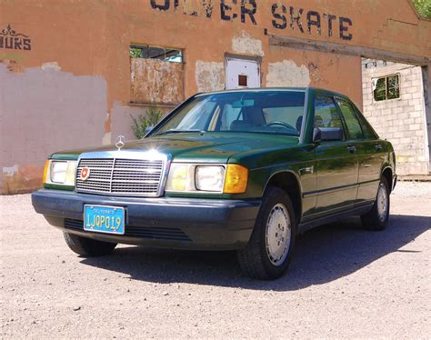 Mercedes 190d by No Reserve 1984 Mercedes 190d 5 Speed For Sale On