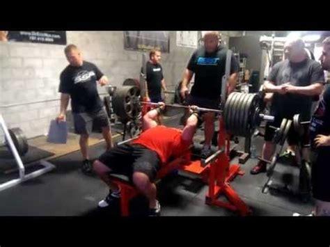 josh bryant bench press jeremy hoornstra 660 bench press training pr 620 close