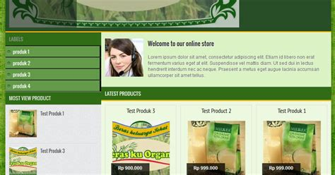 template web toko online responsive 6 template toko online responsive gratis dan premium