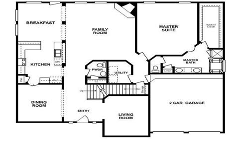Six Bedroom House Plans by Five Bedroom House Floor Plans 6 Bedroom Ranch House Plans