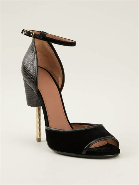 New Givenchy High Heel 3 In 1 1698 3 givenchy matilda sandals in black lyst