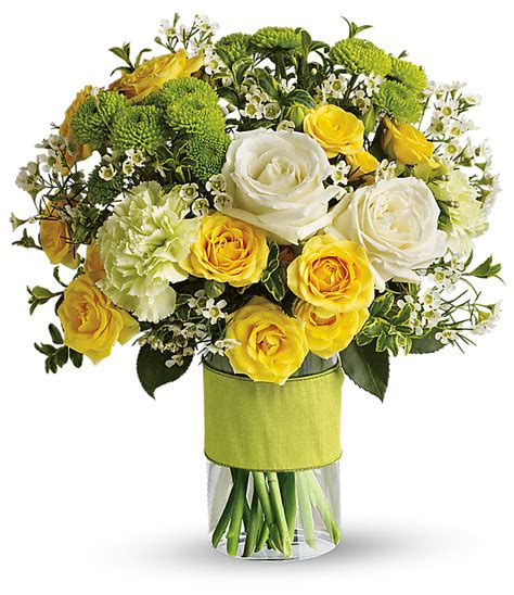 Lime Green Vase What Wedding Flowers Are In Season In The Summer Teleflora