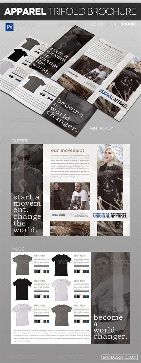 template brochure clothing 101 best print templates images on pinterest print