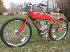custom motored bicycles drop loop worksman motorized