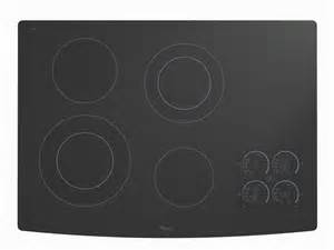Glass Cooktop Whirlpool 174 30 Quot Electric Ceramic Glass Cooktop Gjc3055rb
