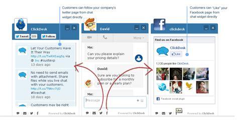 Social Media Help Desk by Increase Traffic With Social Media Integration Clickdesk