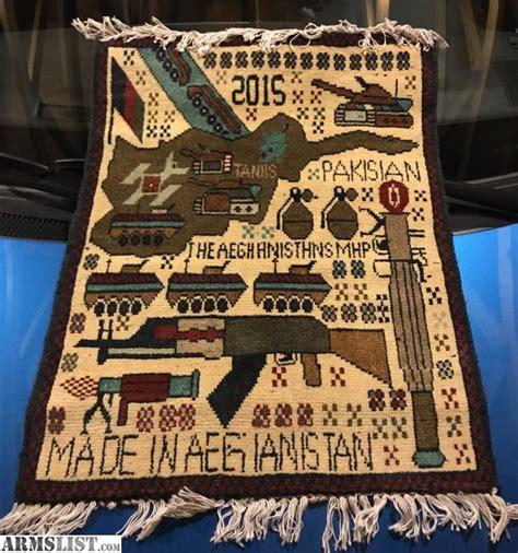 armslist for sale afghani war rugs
