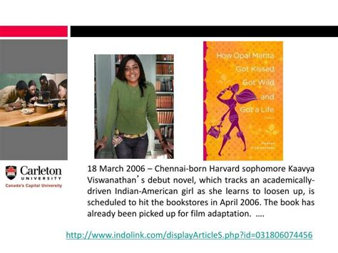 Book Review How Opal Mehta Got Kissed Got And Got A By Kaavya Viswanathan by Ppt Academic Orientation Faculty Of Science Powerpoint