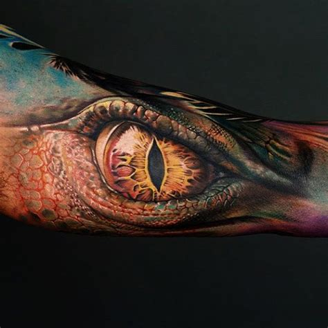 dragon eye tattoo eye sleeve best ideas designs