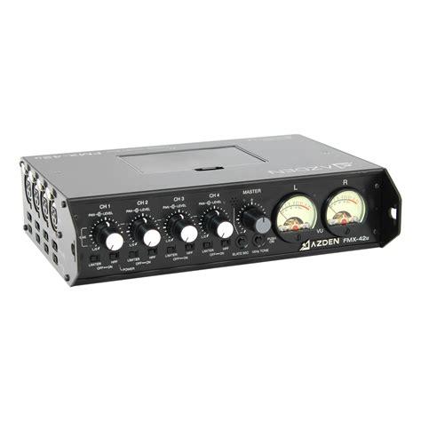 Mixer Audio Line fmx 42u azden
