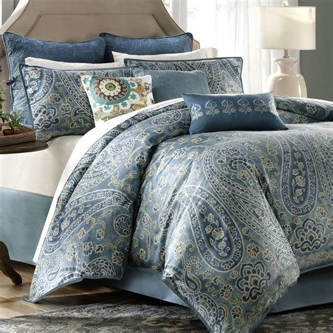 Blue Paisley Bedding Sets Pictures To Pin On Pinterest Paisley Bedding Sets