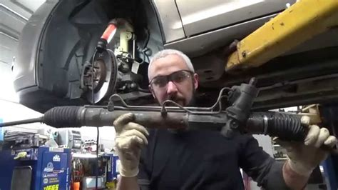 replace rack and pinion saturn aura youtube