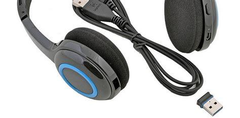 Logitech Stereo Headset Murah jual logitech wireless headset h600 981 000504 murah