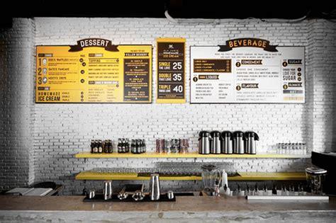 cafe wall menu design 45 remarkable food drink menu designs web graphic