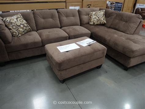 costco couches in store marks and cohen jacobsen 3 piece sectional