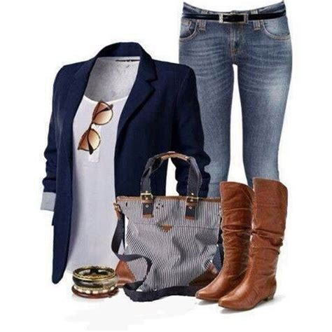 Blazer Style Navy Fit Blazer 82 82 best preppy fashionista images on feminine