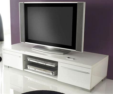Impressionnant Meuble Tv Hifi Blanc Laque #2: Meuble-tv-design-blanc-laque-cavalli-140-cm.jpg