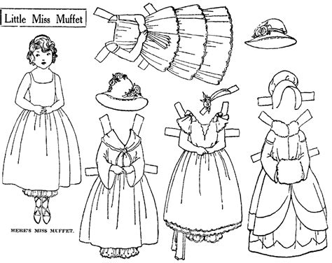 How To Make Cut Out Paper Dolls - mostly paper dolls july 2014