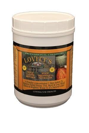 lovitts cleaner brightener kit log cabin log stains