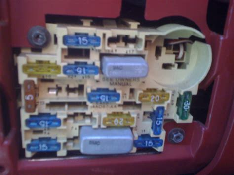 pic needed   mustang  fuse box ford mustang forum