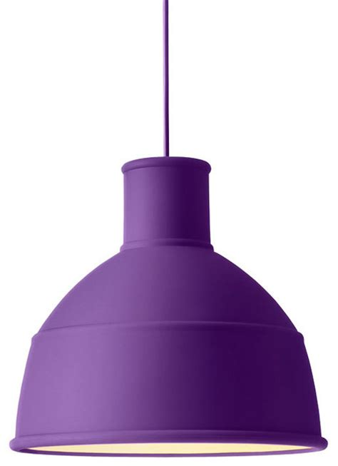 Purple Pendant Light Unfold Pendant L Purple Modern Pendant Lighting By A R