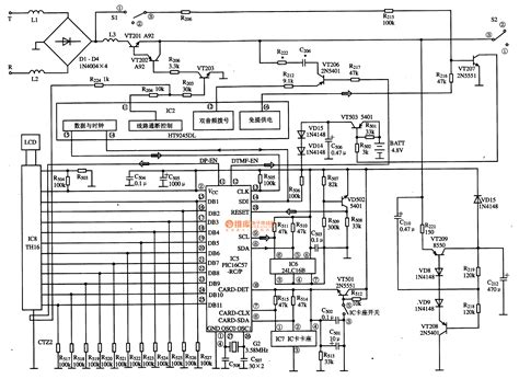 what is the function of an integrated circuit gt circuits gt pic16c57 rc p communication single chip microcomputer integrated circuit diagram