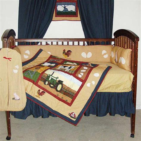 Patch Magic Barnyard Animals 6 Piece Crib Bedding Set Barnyard Crib Bedding