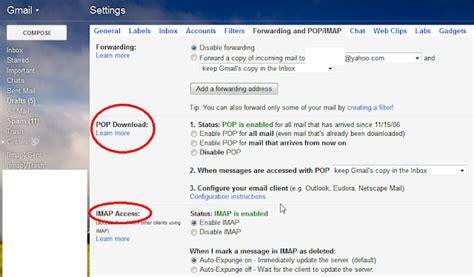 imap gmail how to setup gmail on mozilla thunderbird email client