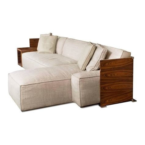 my world sofa cassina my world sectional sofa with wood shelves by