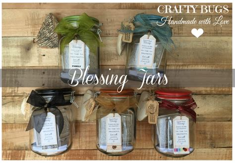 Wedding Blessing Jar by Crafty Bugs Blessing Jars