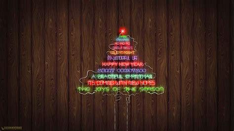 neon xmas tree neon text tree wallpaper by dabbex30 on deviantart