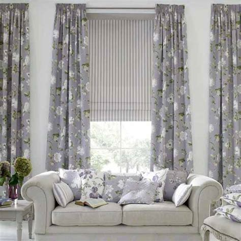 Shade Curtains Decorating Home Interior Design And Interior Nuance Modern Living Room Curtains