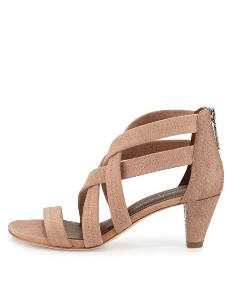 how to stretch leather sandals donald j pliner vida stretch leather strappy sandal blush