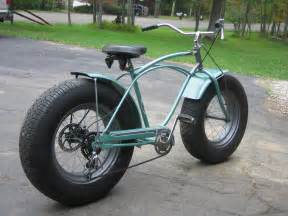 Car Tires On Motorcycles Custom Schwinn Bike With Car Tires