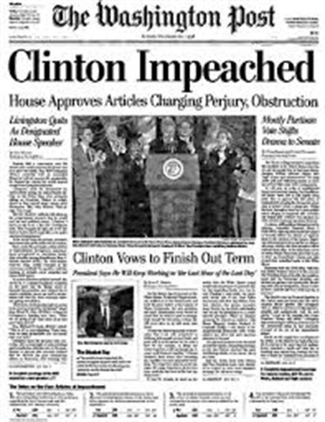 washington post crime section constitutional impeachment an alternative to