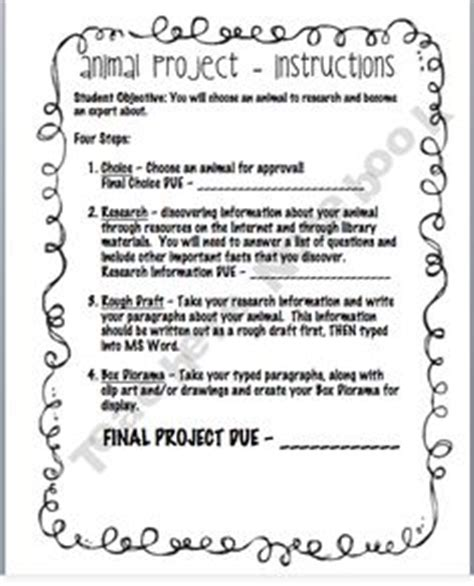 Research Project Letter To Parents 1000 Images About Research Animals Unit On Animal Habitats Habitats And Animals