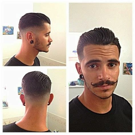 Model Rambut Rockabilly by Greaser Pompadour Hairstyle Newhairstylesformen2014