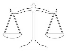 weighing scale template printable scales of justice template