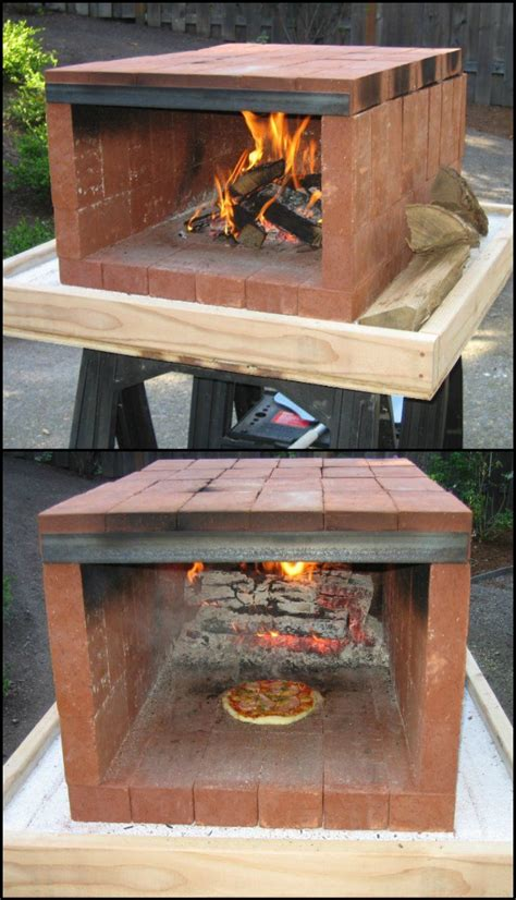 backyard ovens wood fired ovens build a dry stack wood fired pizza oven comfortably in one