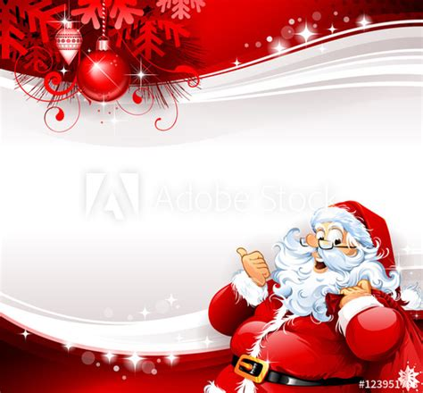 design banner natal vintage christmas banner design with cartoon santa claus