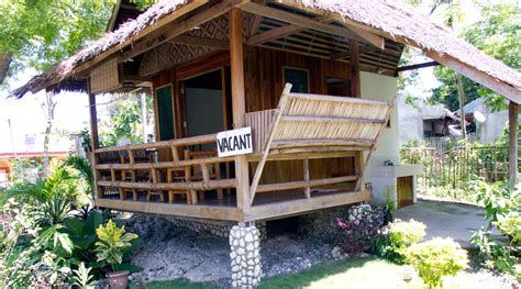 native bungalow house designs welcome mayas native garden moalboal
