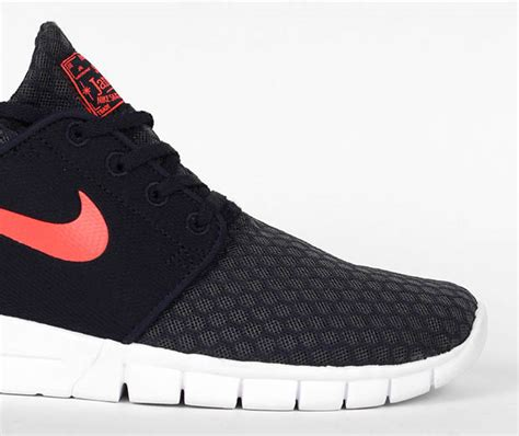 Neww Sepatu Casual Sepatu Nike Stefan Janoski Max new mesh materials on the nike stefan janoski max sneakernews
