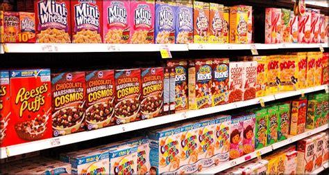 Supermarket Box supermarket cereal aisle 187 joshua spodek