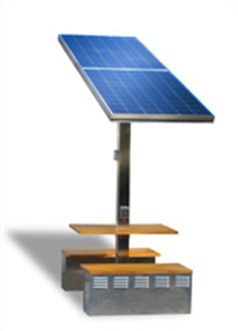 solar charging tables power up cuses malls disaster