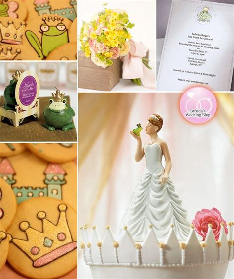 princess and the frog themed bridal shower inspiration board disney disney princess and cakes