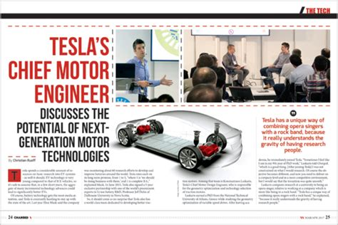 Tesla Electrical Engineer Talking Tech With Tesla S Chief Motor Design Engineer
