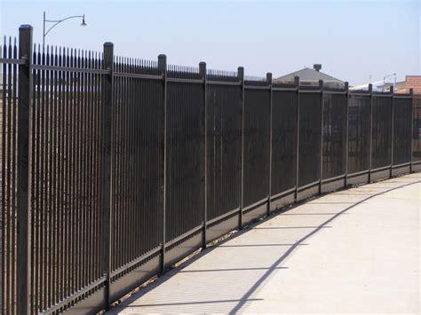 steel security fencing